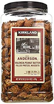 Kirkland Signature Peanut Butter Filled Pretzel Nuggets - 55 oz