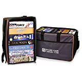 Board Game Bag - [Backpack/Luggage Slip] - Padded Board Game Carrier (Oxford Gray)
