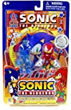 Sonic and Amy Exclusive Sonic the Hedgehog 2 Pack Comic Book Pack with 3-inch Figures