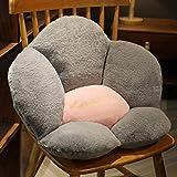 シートクッション 背もたれ デスク/腰枕女の子 花 クッション 可愛い 座椅子 優れたサポート 柔らかい フワフワ 気持ちいい 椅子 ソファー用 オフィス用 北欧 インスタ映え 冷暖房対応
