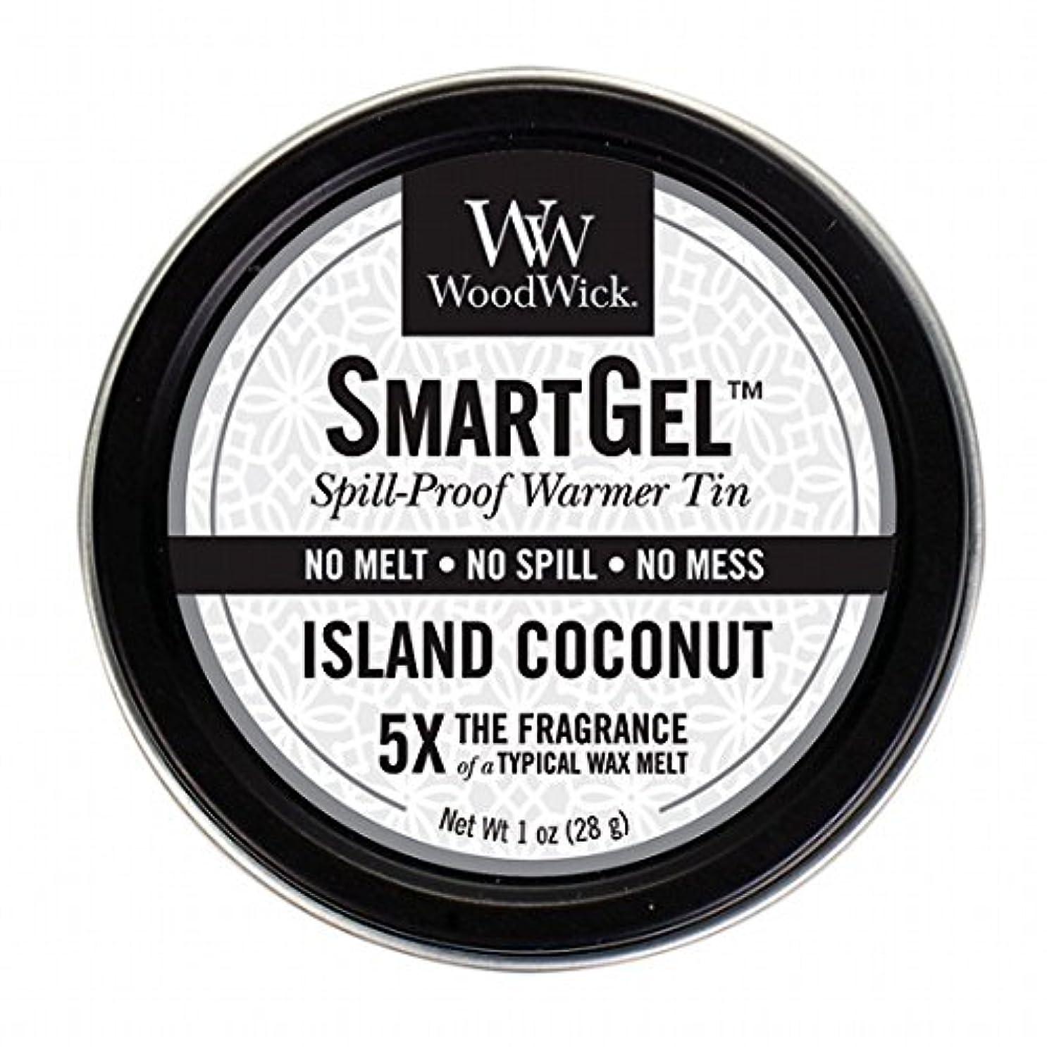 注文液体シュリンクウッドウィック( WoodWick ) Wood Wickスマートジェル 「 アイランドココナッツ 」 W9630560