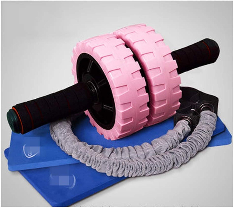 QPSGB Roller bauchtrainer- übungs-Rad - Bauch Rad-Training Bauch Fitnessausrüstung Haus Abdomen Professionelle Rolle Bauch Roller -Roller bauchtrainer (Farbe   F)