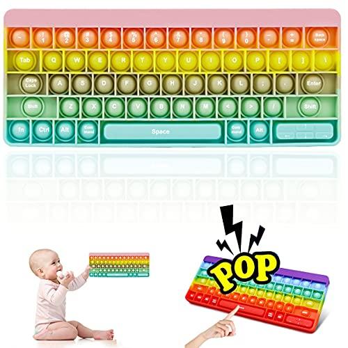 pop it tastiera Pop Bubble Sensory Fidget Toy