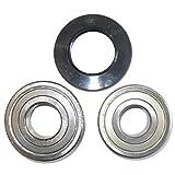 Spares2go Kit de rodamientos de tambor y sellado de...
