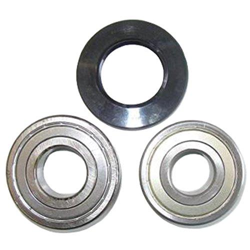 Spares2go Kit de rodamientos de tambor y sellado de aceite para lavadoras Miele (6306Z y 6305Z SKF)