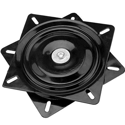 Emma - Rodamiento de bolas para bandeja giratoria, placa giratorio de 360° para taburete o asiento de barco de 17,8cm