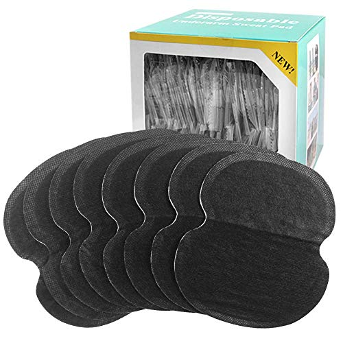 StillCool Achselpads 60/100 Stück Achsel Schweiß Pads Unsichtbar Komfortabel (Schwarz 100 Stück)