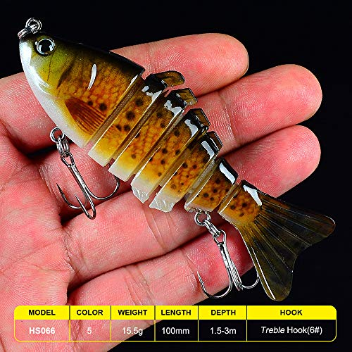 Life Energy Supplier Fishing Lure Kit for Bass, Trout, Walleye 4