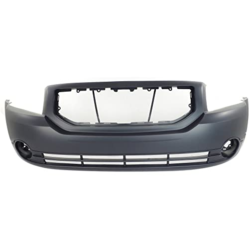 Front BUMPER COVER Primed for 2007-2012 Dodge Caliber