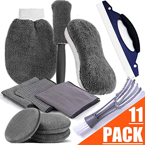 STARPIA 11PCS Kit de Limpieza de Coche Set de Lavado de Auto
