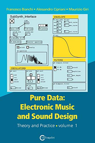 Compare Textbook Prices for Pure Data: Electronic Music and Sound Design - Theory and Practice - Volume 1  ISBN 9788899212216 by Bianchi, Francesco,Alessandro, Cipriani,Maurizio, Giri