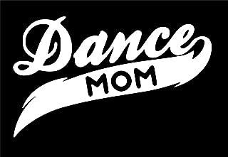 UR Impressions Dance Mom Decal Vinyl Sticker Graphics for Cars Trucks SUV Vans Walls Windows Laptop White 7.5 X 4.5 inch URI015
