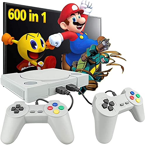 Video Game Set for tv gaming for 2 players with 999 Games Installed | Two Player Tv Led Lcd Gaming Console | Best Birthday Gift for Kids (Multicolor)