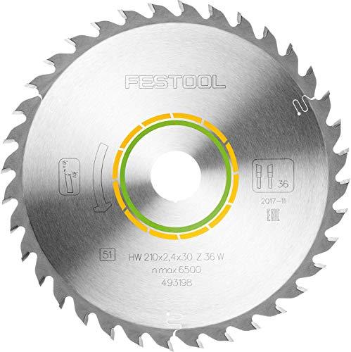 Festool 493198 Kreissägeblatt HW 210 x 2.4 x 30 W36