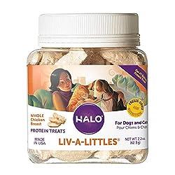 HALO Freeze-Dried Raw Dog Food Protein Treats