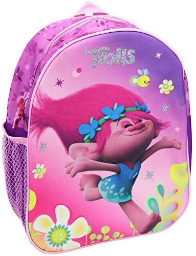 Trolls Kinder-Rucksack mit Motiv von Poppy aus DreamWorks