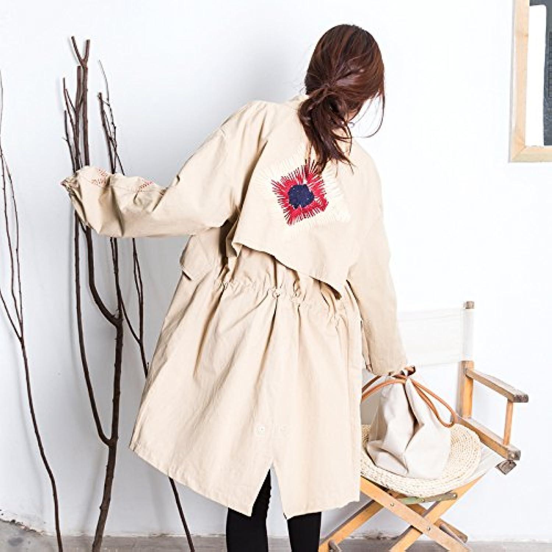 Xuanku Mittel- Bis Langfristig, Wind Jacket Entspannt Lcheln Abzeichen Foutune Von Mittel- Bis Langfristigen Mean Code,Khaki8883