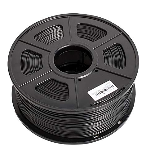 3D Printing Filament ABS Printing Material 1.75 mm 1 kg (2.2 pounds) Spool for 3D Printer and 3D Pen Black