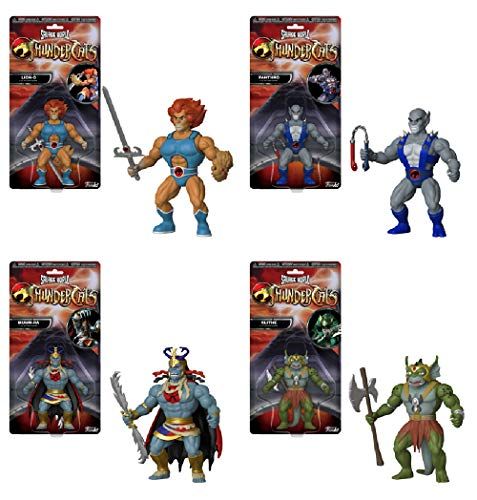 Funko Savage World Thundercats Series 1 Collectible Action Figures (Set of 4)