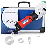 BAOSHISHAN Cast Removal Saw Cast Cutter Electric Plaster Saw Oscillating Speed Adjustable for Tearing Polymeric Materials 110V (RED)