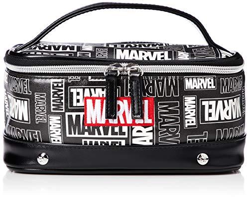 [マーベル] MARVEL 合皮 ランダムバニティ/マーベル メイクBOX ポーチ XZ035_001 クロ