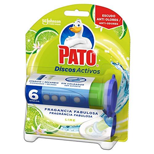 PATO - Discos Activos WC Lima, aplicador y recambio con 6 di