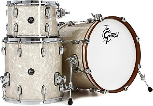Gretsch Drums GRETSCH RN2J483VP RENOWN 3PC SHELLPACK VINTAGE PEARL