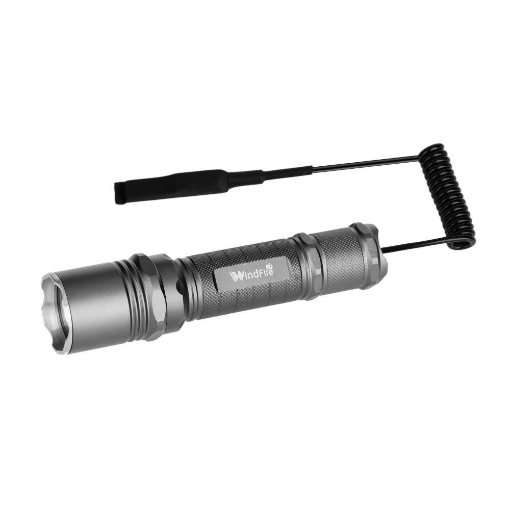 3-Modes XPG-R5 LED Flashlight Hunting Light Torch Fit Weaver Picatinny Rails USC