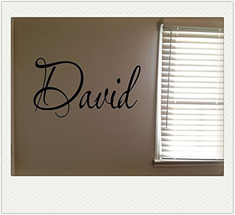 David Boys Room Name Nursery Baby Kids Vinyl Wall Art Quote Sticker