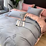 juegos de sábanas de 160x200,Verano fresco de seda pantalla cama individual seda seda seda estilo europeo estilo doble rey rey usado, hotel familia apartamento dormitorio dia de la madre regalo-T_C