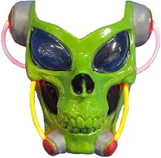 Costume Alien Light-Up Skull Mask