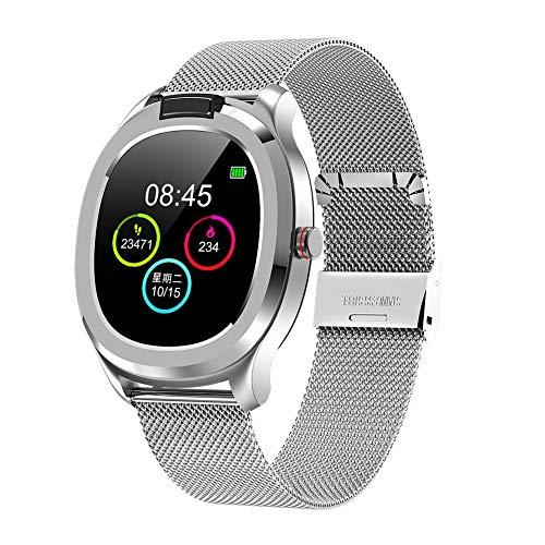 Smartwatch, orologio da polso da uomo e da donna, smartwatch, con cinturino impermeabile IP68, multifunzione, con misuratore di attività