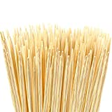 NZ Rebadulla Bamboo Sticks Marshmallow Roasting Sticks, S'Mores Hot Dogs Kebab - 6mm Thick 36 Inch Extra Long Heavy Duty Bamboo Skewers | 110 Pcs, 100% Biodegradable and Food Safe