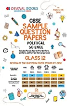 Oswaal CBSE Sample Question Papers for Class 12 Political Science Old Edition