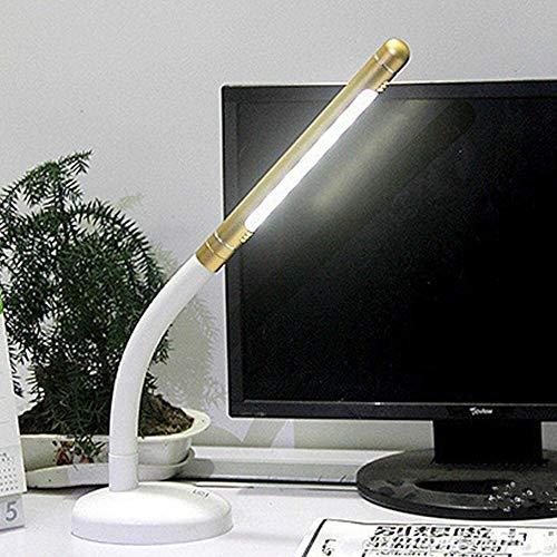 QIURUIXIANG - La lámpara LED regulable lámpara de ojo plegable con puerto de carga USB lámpara de trabajo nivel de luminancia tres control táctil