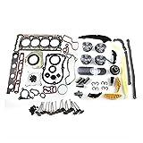 MAYINGXUE Kit de reconstrucción del Motor FIT FOR VW GTI Audi A4 A5 Q5 2.0 TFSI CDNC CCZA CCTA CAEB CDNB CAWB CBFA 21mm Piston Pins EA888