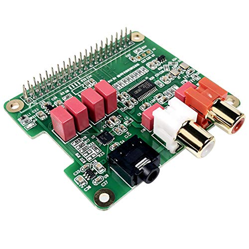 InnoMaker Raspberry Pi HIFI DAC HAT PCM5122 HIFI DAC Audio Card Expansion Board for Raspberry Pi 4 3 B+ Pi Zero etc. (DAC HAT)