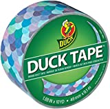 Duck Brand 241791 Printed Duct Tape, 1.88 Inches x 10 Yards, Mermaid