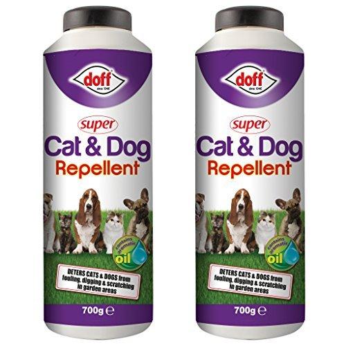 2 x Doff 700g Super Cat & Dog Repellent - Shaker Bottle safe around the...