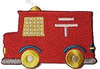 ワッペン アイロン 郵便車