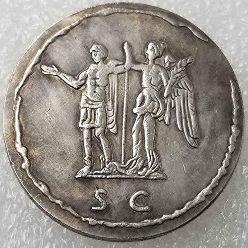 YunBest Moneda romana antigua - Mejor colección de monedas antiguas - Rey filósofo - Monedas del Imperio Romano - Moneda conmemorativa de la suerte-Descubre la historia de US Coins BestShop