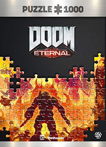 Doom: Eternal Maykr - Puzzle 1000 Piezas 68cm x 48cm | Incluye póster y Bolsa | Videojuego | Puzzle para Adultos y Adolescentes