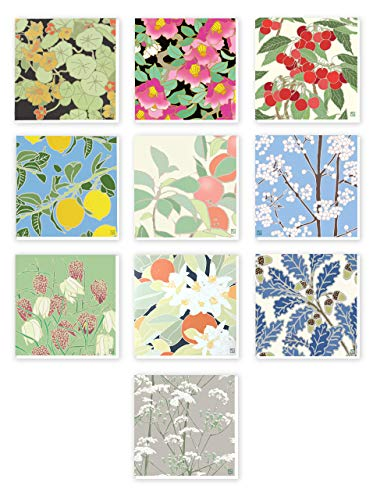 Floral | Colourful | Pack of 10 ...