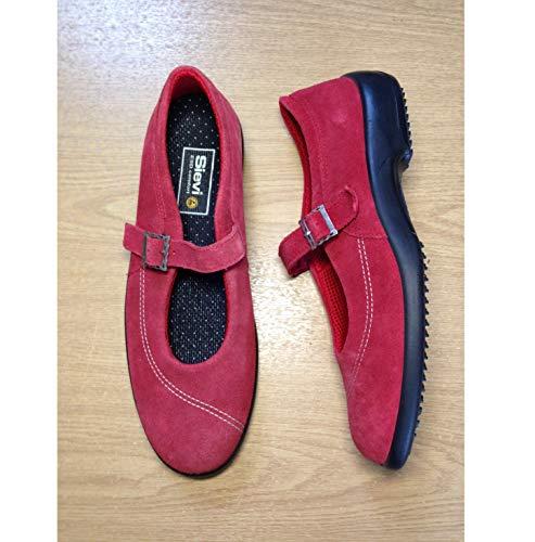 Elimistat Sievi Ballerina Red Premium ESD Schuhe Größe 39