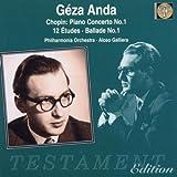 Piano Concerto 1 / 12 Etudes / Ballade 1 by F. Chopin (1998-09-01)