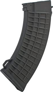 Evike - Matrix 150rd Waffle Type Mid-Cap Magazine for AK Series Airsoft AEG Rifles - Black
