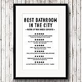 Divertidos comentarios de baño impresiones de arte en lienzo y póster, citas de baño cuadro de pintura minimalista moderno decoración de arte de pared para el hogar 40x60 CM (sin marco)