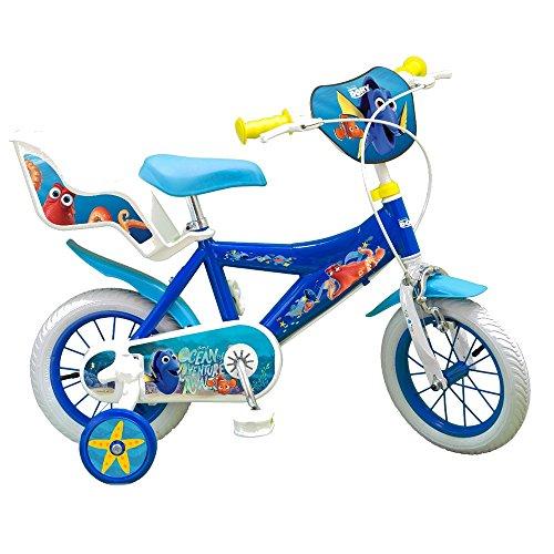 GUIZMAX Vélo Enfant 12 Pouces Le Monde de Dory Licence Officielle Disney Némo