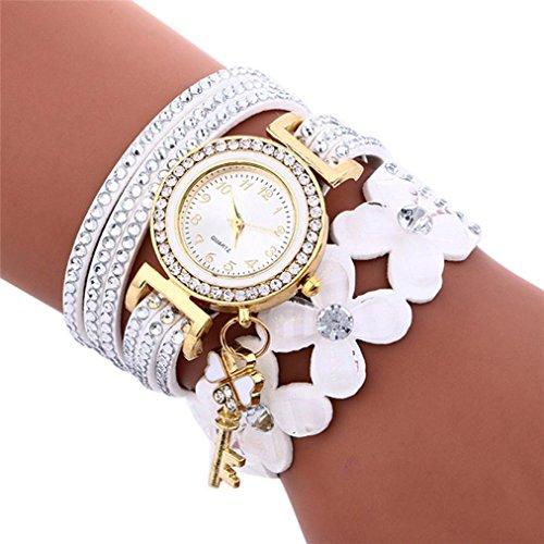 Yesmile Relojes❤️Reloj de Pulsera de Mujer con Diamantes de Campanas de Moda...