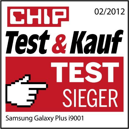 Samsung Galaxy S Plus I9001 Smartphone (10,16 cm (4 Zoll) Display, Touchscreen, 5 Megapixel Kamera, Android Betriebssystem) schwarz